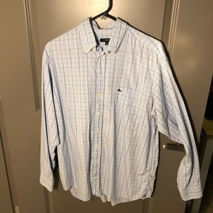 Men's Burberry London Long Sleeve Button Down!